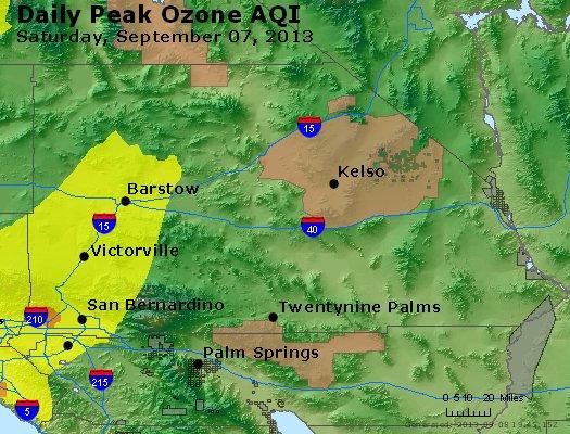 Peak Ozone (8-hour) - http://files.airnowtech.org/airnow/2013/20130907/peak_o3_sanbernardino_ca.jpg