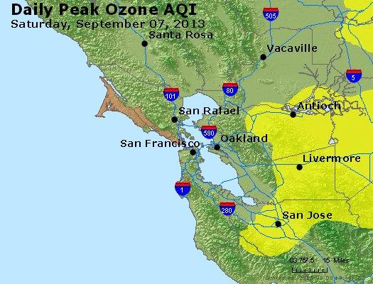 Peak Ozone (8-hour) - http://files.airnowtech.org/airnow/2013/20130907/peak_o3_sanfrancisco_ca.jpg