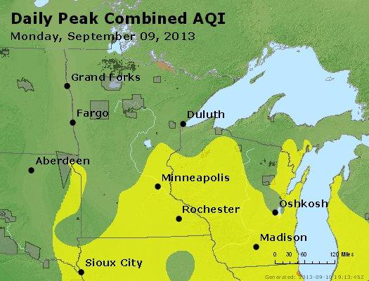 Peak AQI - http://files.airnowtech.org/airnow/2013/20130909/peak_aqi_mn_wi.jpg