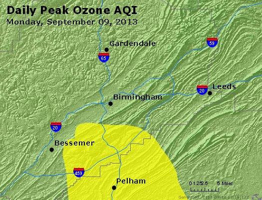 Peak Ozone (8-hour) - http://files.airnowtech.org/airnow/2013/20130909/peak_o3_birmingham_al.jpg