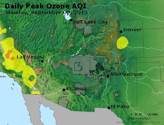 Peak Ozone (8-hour) - http://files.airnowtech.org/airnow/2013/20130909/peak_o3_co_ut_az_nm.jpg