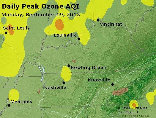 Peak Ozone (8-hour) - http://files.airnowtech.org/airnow/2013/20130909/peak_o3_ky_tn.jpg