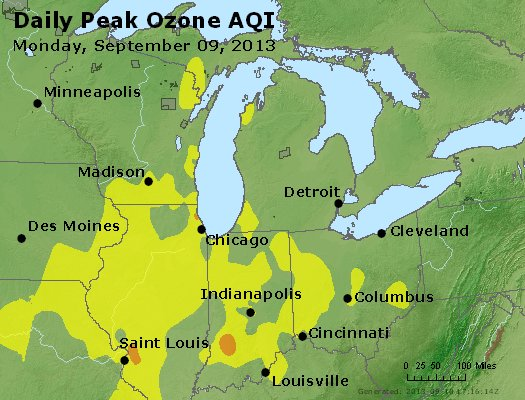 Peak Ozone (8-hour) - http://files.airnowtech.org/airnow/2013/20130909/peak_o3_mi_in_oh.jpg
