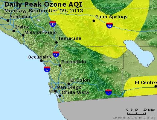 Peak Ozone (8-hour) - http://files.airnowtech.org/airnow/2013/20130909/peak_o3_sandiego_ca.jpg