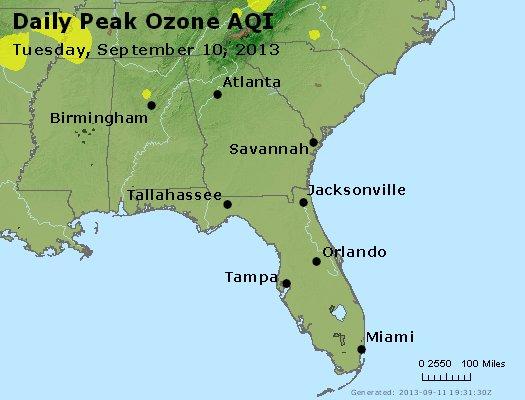 Peak Ozone (8-hour) - http://files.airnowtech.org/airnow/2013/20130910/peak_o3_al_ga_fl.jpg