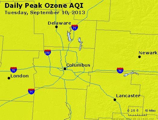 Peak Ozone (8-hour) - http://files.airnowtech.org/airnow/2013/20130910/peak_o3_columbus_oh.jpg