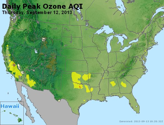 Peak Ozone (8-hour) - http://files.airnowtech.org/airnow/2013/20130912/peak_o3_usa.jpg