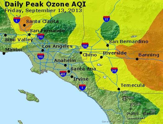 Peak Ozone (8-hour) - http://files.airnowtech.org/airnow/2013/20130913/peak_o3_losangeles_ca.jpg
