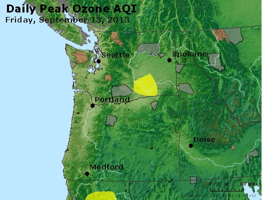 Peak Ozone (8-hour) - http://files.airnowtech.org/airnow/2013/20130913/peak_o3_wa_or.jpg