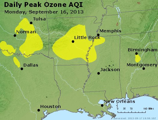 Peak Ozone (8-hour) - http://files.airnowtech.org/airnow/2013/20130916/peak_o3_ar_la_ms.jpg