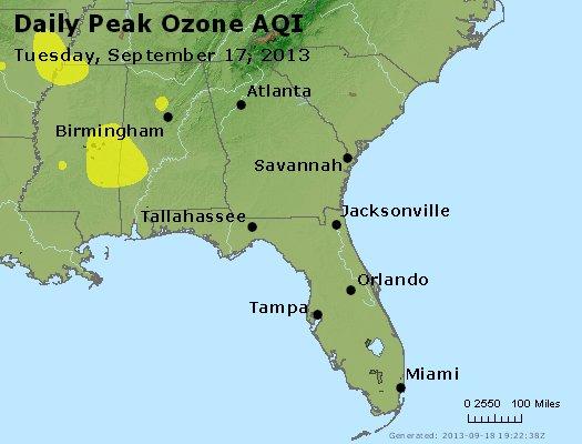 Peak Ozone (8-hour) - http://files.airnowtech.org/airnow/2013/20130917/peak_o3_al_ga_fl.jpg
