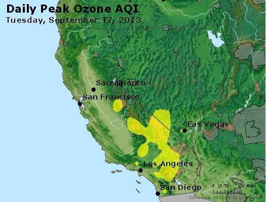 Peak Ozone (8-hour) - http://files.airnowtech.org/airnow/2013/20130917/peak_o3_ca_nv.jpg