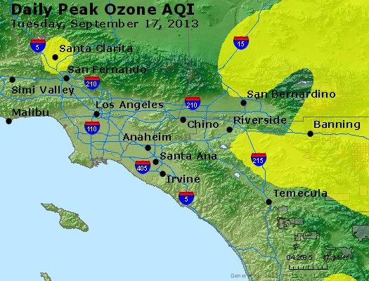 Peak Ozone (8-hour) - http://files.airnowtech.org/airnow/2013/20130917/peak_o3_losangeles_ca.jpg
