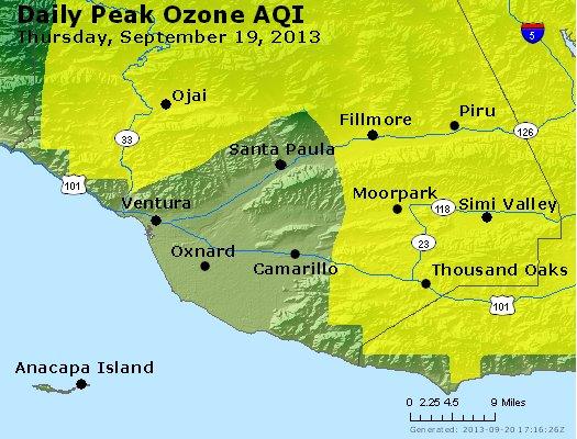 Peak Ozone (8-hour) - http://files.airnowtech.org/airnow/2013/20130919/peak_o3_ventura.jpg