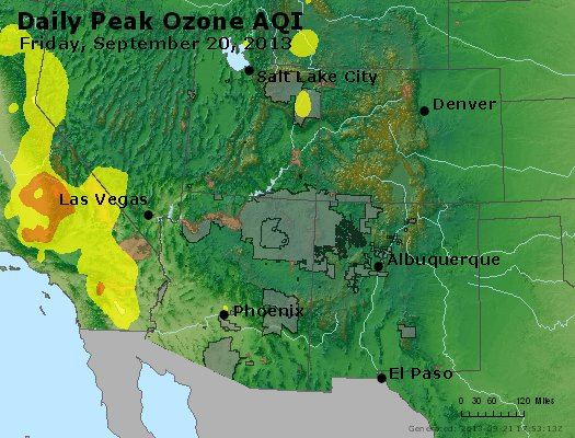 Peak Ozone (8-hour) - http://files.airnowtech.org/airnow/2013/20130920/peak_o3_co_ut_az_nm.jpg