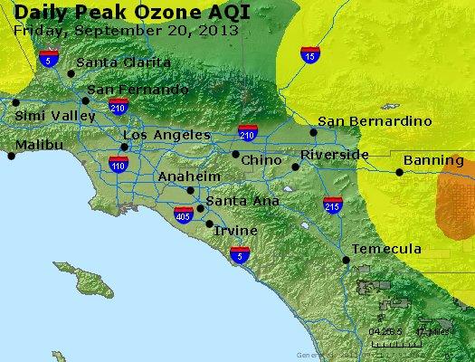 Peak Ozone (8-hour) - http://files.airnowtech.org/airnow/2013/20130920/peak_o3_losangeles_ca.jpg