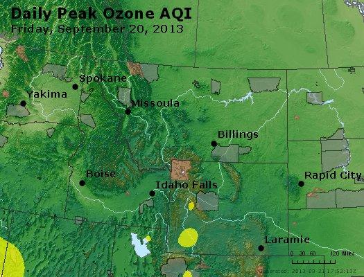 Peak Ozone (8-hour) - http://files.airnowtech.org/airnow/2013/20130920/peak_o3_mt_id_wy.jpg