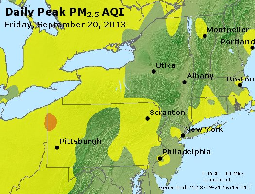 Peak Particles PM<sub>2.5</sub> (24-hour) - http://files.airnowtech.org/airnow/2013/20130920/peak_pm25_ny_pa_nj.jpg