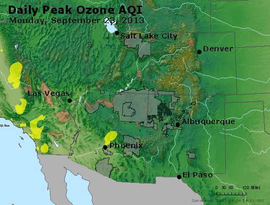 Peak Ozone (8-hour) - http://files.airnowtech.org/airnow/2013/20130923/peak_o3_co_ut_az_nm.jpg