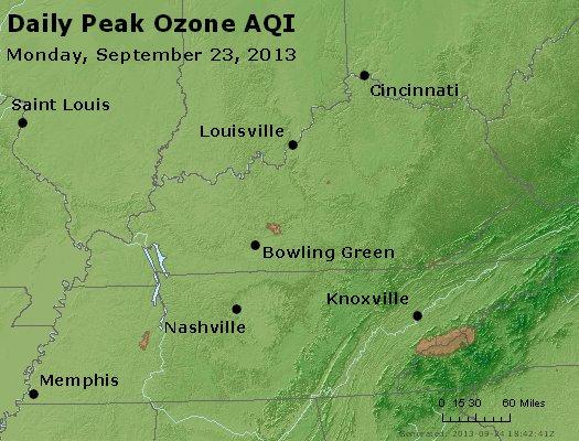 Peak Ozone (8-hour) - http://files.airnowtech.org/airnow/2013/20130923/peak_o3_ky_tn.jpg