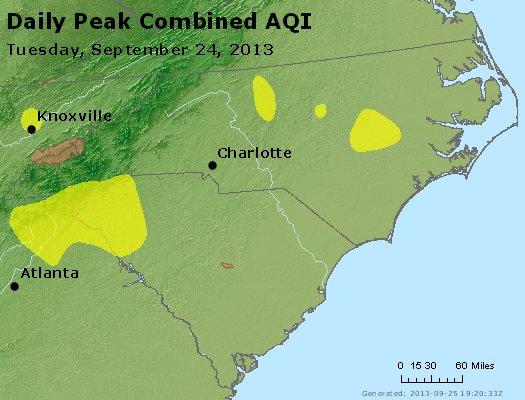 Peak AQI - http://files.airnowtech.org/airnow/2013/20130924/peak_aqi_nc_sc.jpg