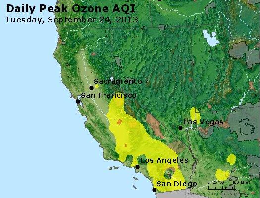 Peak Ozone (8-hour) - http://files.airnowtech.org/airnow/2013/20130924/peak_o3_ca_nv.jpg