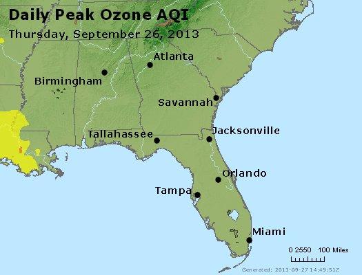 Peak Ozone (8-hour) - http://files.airnowtech.org/airnow/2013/20130926/peak_o3_al_ga_fl.jpg