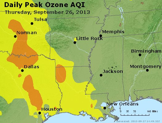 Peak Ozone (8-hour) - http://files.airnowtech.org/airnow/2013/20130926/peak_o3_ar_la_ms.jpg