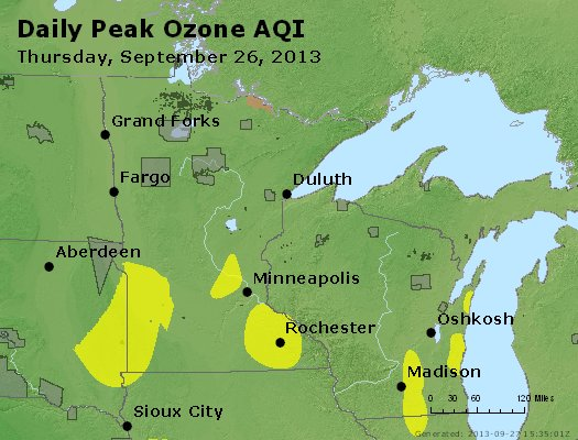 Peak Ozone (8-hour) - http://files.airnowtech.org/airnow/2013/20130926/peak_o3_mn_wi.jpg