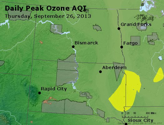 Peak Ozone (8-hour) - http://files.airnowtech.org/airnow/2013/20130926/peak_o3_nd_sd.jpg