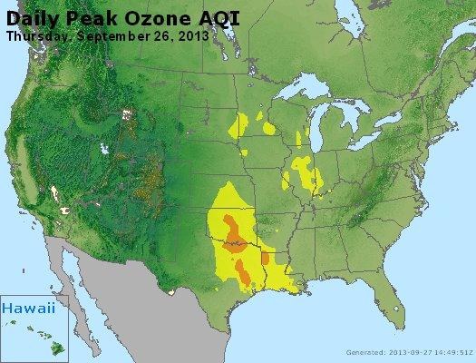 Peak Ozone (8-hour) - http://files.airnowtech.org/airnow/2013/20130926/peak_o3_usa.jpg
