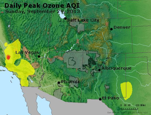 Peak Ozone (8-hour) - http://files.airnowtech.org/airnow/2013/20130929/peak_o3_co_ut_az_nm.jpg