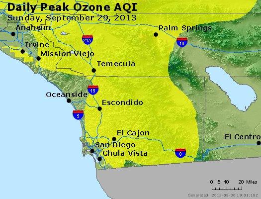 Peak Ozone (8-hour) - http://files.airnowtech.org/airnow/2013/20130929/peak_o3_sandiego_ca.jpg