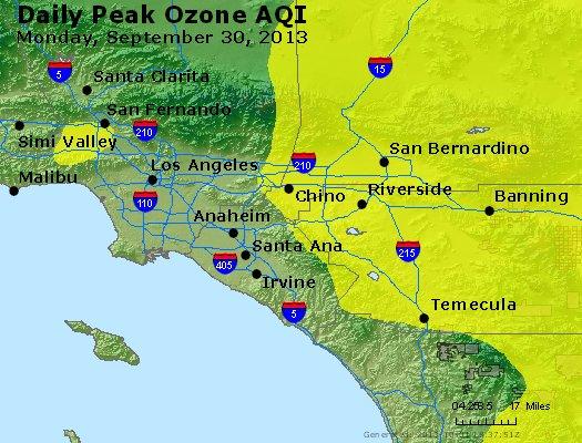 Peak Ozone (8-hour) - http://files.airnowtech.org/airnow/2013/20130930/peak_o3_losangeles_ca.jpg