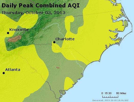 Peak AQI - http://files.airnowtech.org/airnow/2013/20131003/peak_aqi_nc_sc.jpg