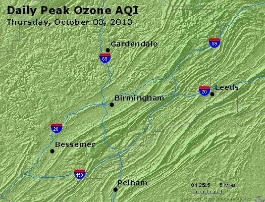 Peak Ozone (8-hour) - http://files.airnowtech.org/airnow/2013/20131003/peak_o3_birmingham_al.jpg