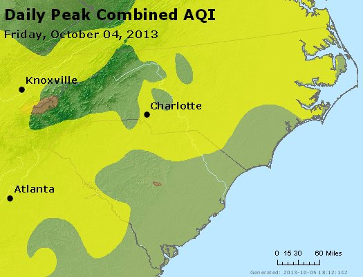 Peak AQI - http://files.airnowtech.org/airnow/2013/20131004/peak_aqi_nc_sc.jpg