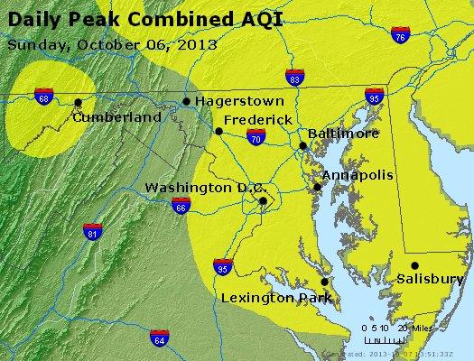 Peak AQI - http://files.airnowtech.org/airnow/2013/20131006/peak_aqi_maryland.jpg