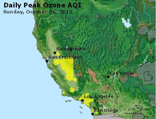 Peak Ozone (8-hour) - http://files.airnowtech.org/airnow/2013/20131006/peak_o3_ca_nv.jpg