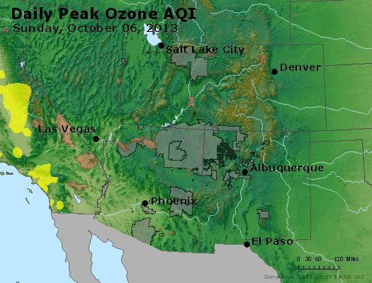 Peak Ozone (8-hour) - http://files.airnowtech.org/airnow/2013/20131006/peak_o3_co_ut_az_nm.jpg