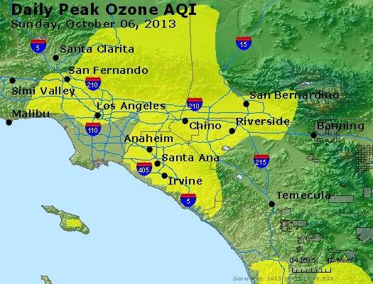 Peak Ozone (8-hour) - http://files.airnowtech.org/airnow/2013/20131006/peak_o3_losangeles_ca.jpg