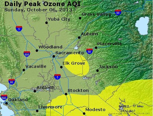 Peak Ozone (8-hour) - http://files.airnowtech.org/airnow/2013/20131006/peak_o3_sacramento_ca.jpg