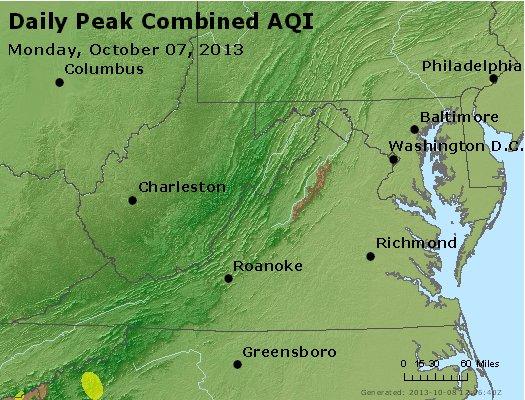 Peak AQI - http://files.airnowtech.org/airnow/2013/20131007/peak_aqi_va_wv_md_de_dc.jpg