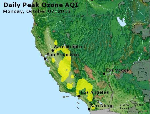 Peak Ozone (8-hour) - http://files.airnowtech.org/airnow/2013/20131007/peak_o3_ca_nv.jpg