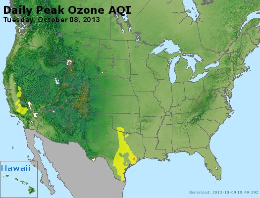 Peak Ozone (8-hour) - http://files.airnowtech.org/airnow/2013/20131008/peak_o3_usa.jpg