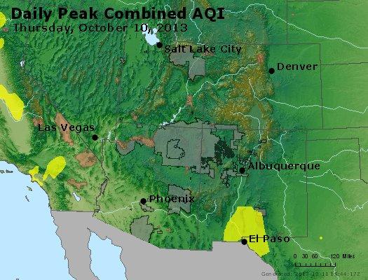 Peak AQI - http://files.airnowtech.org/airnow/2013/20131010/peak_aqi_co_ut_az_nm.jpg