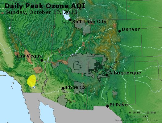 Peak Ozone (8-hour) - http://files.airnowtech.org/airnow/2013/20131013/peak_o3_co_ut_az_nm.jpg