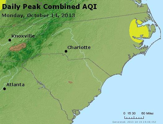 Peak AQI - http://files.airnowtech.org/airnow/2013/20131014/peak_aqi_nc_sc.jpg