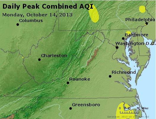 Peak AQI - http://files.airnowtech.org/airnow/2013/20131014/peak_aqi_va_wv_md_de_dc.jpg