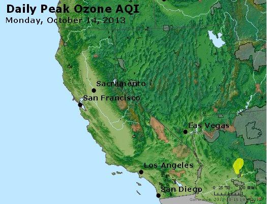 Peak Ozone (8-hour) - http://files.airnowtech.org/airnow/2013/20131014/peak_o3_ca_nv.jpg